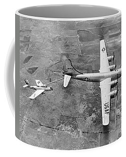 F-84f Thunderstreak Refueled Coffee Mug
