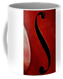 Coffee Mug featuring the photograph F Hole by Chris Berry