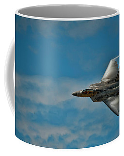 F22 Raptor Steals The Show Coffee Mug