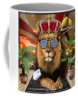 Fables Of The Cat Mouse And The Canary Coffee Mug