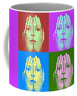Face Art Coffee Mug