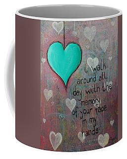 Face In My Hands Coffee Mug