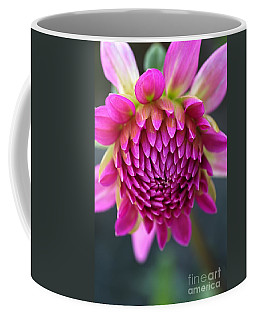 Face Of Dahlia Coffee Mug