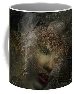 Face Of Space Coffee Mug