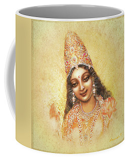 Face Of The Goddess - Lalitha Devi - Without Frame Coffee Mug