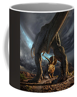 Face Off Coffee Mug