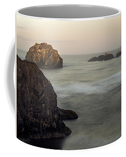 Face Rock Sunrise Coffee Mug