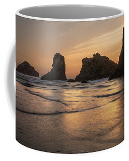 Face Rock Sunset Coffee Mug