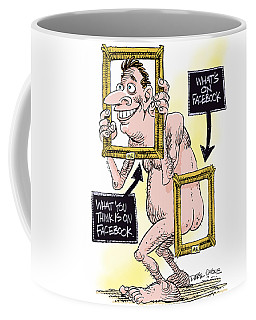 Facebook Privacy Coffee Mug