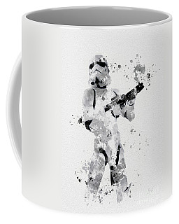Faceless Enforcer Coffee Mug by Rebecca Jenkins