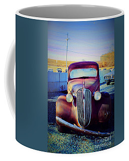 Facelift Wanted Car Coffee Mug