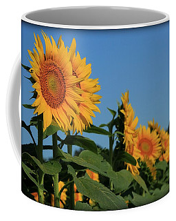 Coffee Mug featuring the photograph Facing East by Chris Berry