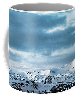 Facing Eyafjallajokull Coffee Mug