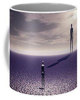 Facing The Future Coffee Mug