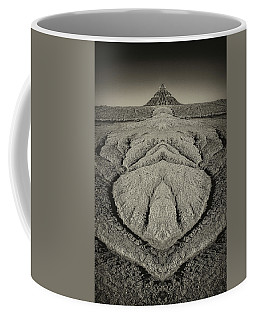 Factory Butte Digital Art Coffee Mug
