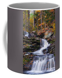 Coffee Mug featuring the photograph Factory Falls 2 by Mark Papke