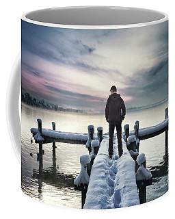 Fade Into Winter Coffee Mug