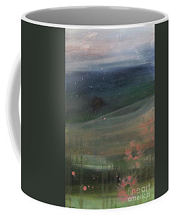 Coffee Mug featuring the painting Faded Days Gone By by Robin Maria Pedrero