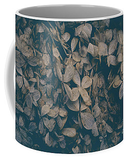 Coffee Mug featuring the photograph Faded Flowers by Edward Fielding