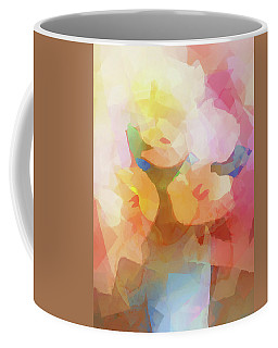 Faded Flowers Coffee Mug