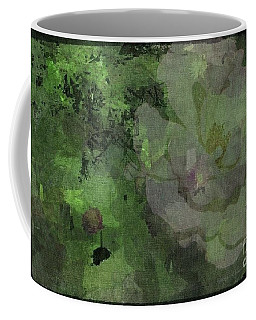 Faded Rose Coffee Mug by Kathie Chicoine
