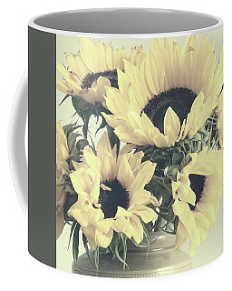 Faded Sunflowers Coffee Mug