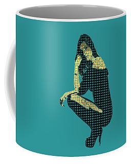 Fading Memories - The Golden Days No.2 Coffee Mug by Serge Averbukh