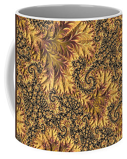 Coffee Mug featuring the digital art Faerie Forest Floor II by Susan Maxwell Schmidt