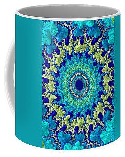 Coffee Mug featuring the digital art Faerie Woods by Susan Maxwell Schmidt