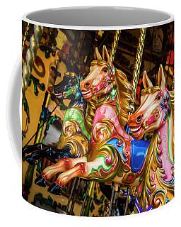 Fairground Carousel Horses Coffee Mug