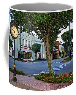 Fairhope Ave With Clock Coffee Mug