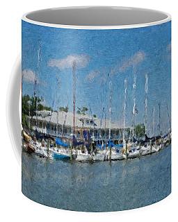 Fairhope Yacht Club Impression Coffee Mug