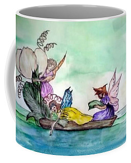 Fairies At Sea Coffee Mug
