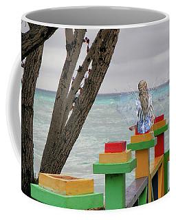 Coffee Mug featuring the mixed media Fairies Can Dream by Rosalie Scanlon