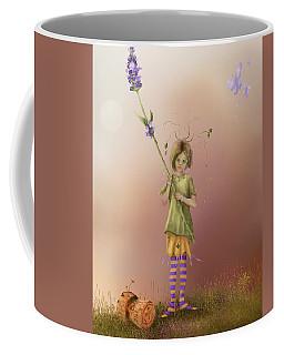 Fairy Bella Lavender Coffee Mug