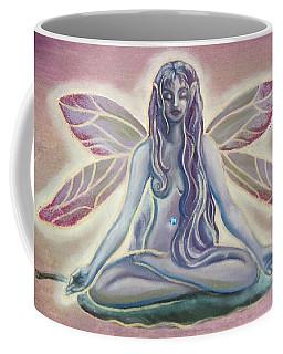 Fairy Doing Yoga Coffee Mug