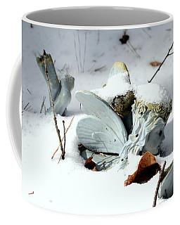 Fairy In The Snow Coffee Mug