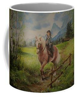Fairy Tale In The Alps Coffee Mug