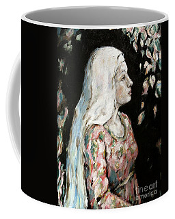 Faith Coffee Mug by Carrie Joy Byrnes