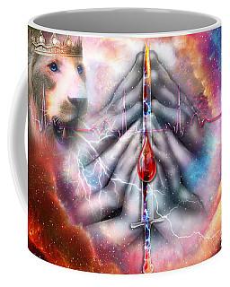 Coffee Mug featuring the digital art Faith Filled Prayer by Dolores Develde