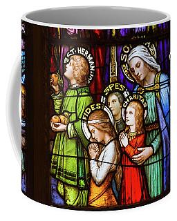 Faith, Hope, And Charity Coffee Mug