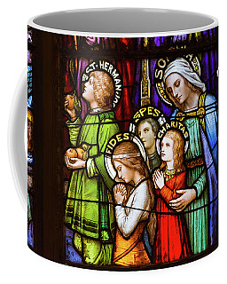 Faith, Hope, And Charity Coffee Mug
