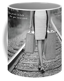 Faith In Your Journey Coffee Mug by Barbara West