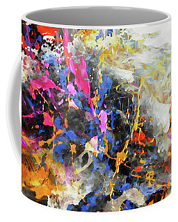 Coffee Mug featuring the digital art Faith Remains by Margie Chapman