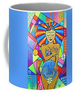 Faith, She Carries The World On Her Hips Coffee Mug