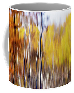 Coffee Mug featuring the photograph Fall Abstract by Mircea Costina Photography