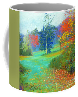 Fall Across The Field  Coffee Mug