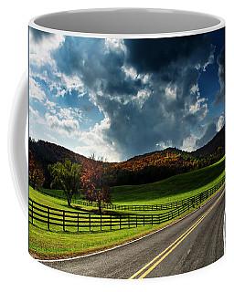 Fall Along Joe Brown Highway Coffee Mug