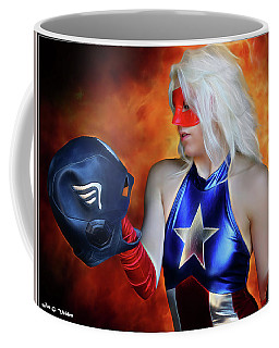 Fall And Rise Of A Hero Coffee Mug
