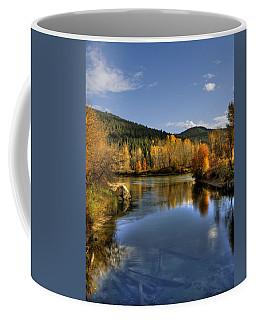 Fall At Blackbird Island Coffee Mug
